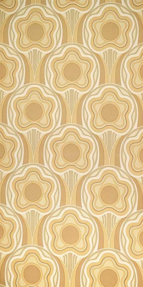 70er tapete 0532 39 90. Black Bedroom Furniture Sets. Home Design Ideas