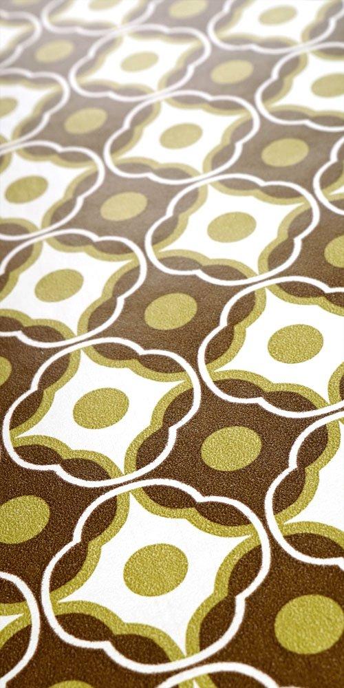 70er vinyl tapete 0904 muster bastelbogen 2 00. Black Bedroom Furniture Sets. Home Design Ideas