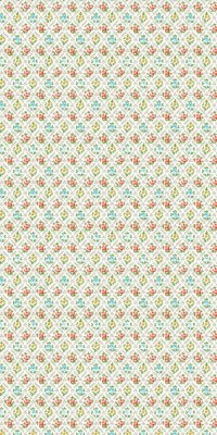 60s/70s floret wallpaper #0405 roll