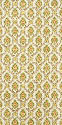 60s/70s baroque wallpaper #0301A sample