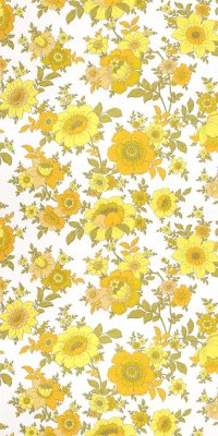 60s flower wallpaper #0828 sample