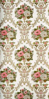 70s baroque wallpaper #0306B