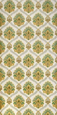 70s baroque wallpaper #0504A sample