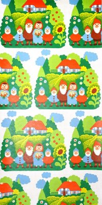 70s childrens wallpaper #0520