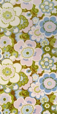 70s wallpaper #0510B sample