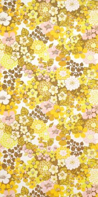 70s flower wallpaper #0629 sample
