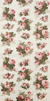 70s flower wallpaper #0714A sample