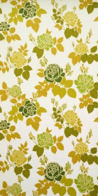 70s flower wallpaper #0813