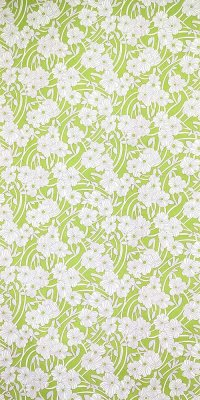 70s flower wallpaper #0815A