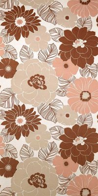 70s flower wallpaper #1001