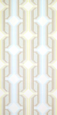 70s geometric wallpaper #1008 sample