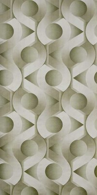 70s geometric wallpaper #1028A sample