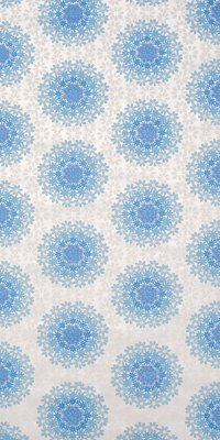 70s geometric flower wallpaper #1413 sample