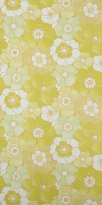 70s flower wallpaper #1216 sample