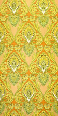 70s vinyl wallpaper #1116 sample