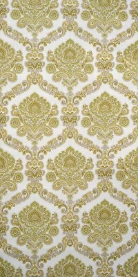 Baroque flower wallpaper #0121B sample