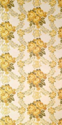 Baroque flower wallpaper #0801A