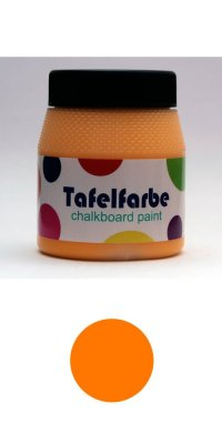 Tafelfarbe - orange