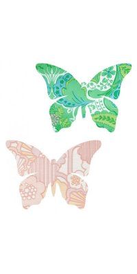 vintage wallpaper butterfly