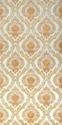 Vintage damask wallpaper #0418C