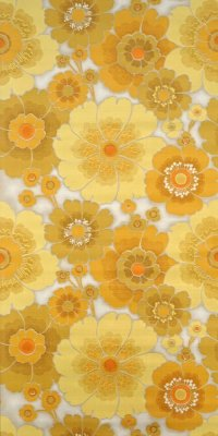 Vintage flower wallpaper #1110A