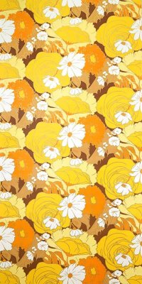 Vintage flower wallpaper #1020 sample