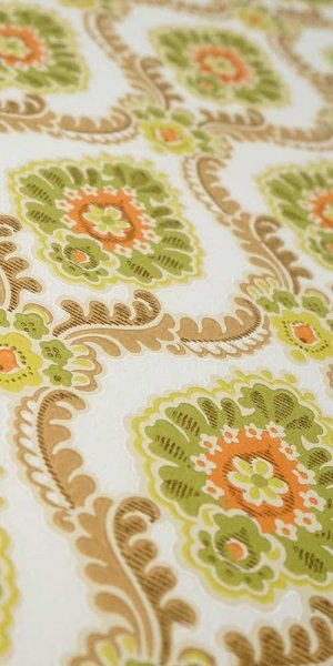 60s/70s baroque wallpaper #0301A