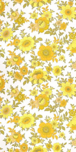 60s flower wallpaper #0828