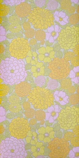 70s flower wallpaper #0527A
