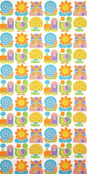 70s childrens wallpaper #0617