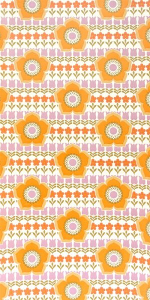 70s flower wallpaper #0704