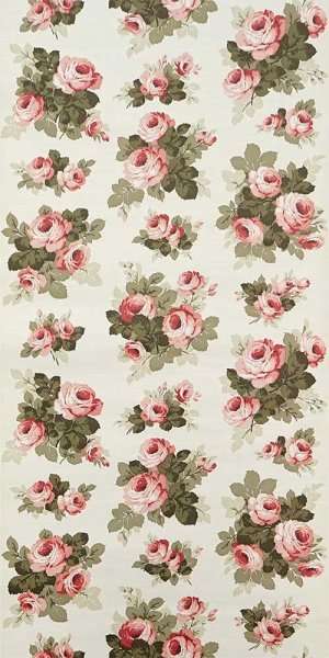 70s flower wallpaper #0714A