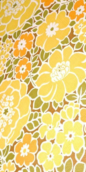 70s flower wallpaper #1111L